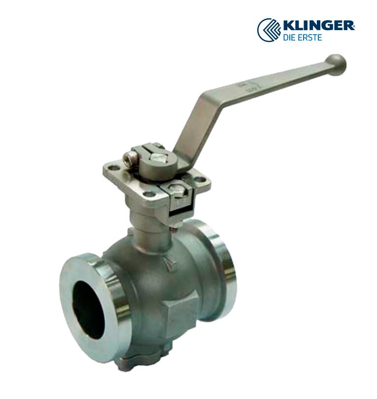Segment-ball-valves KLINGER die Erste